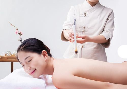 女性艾灸的部位图片