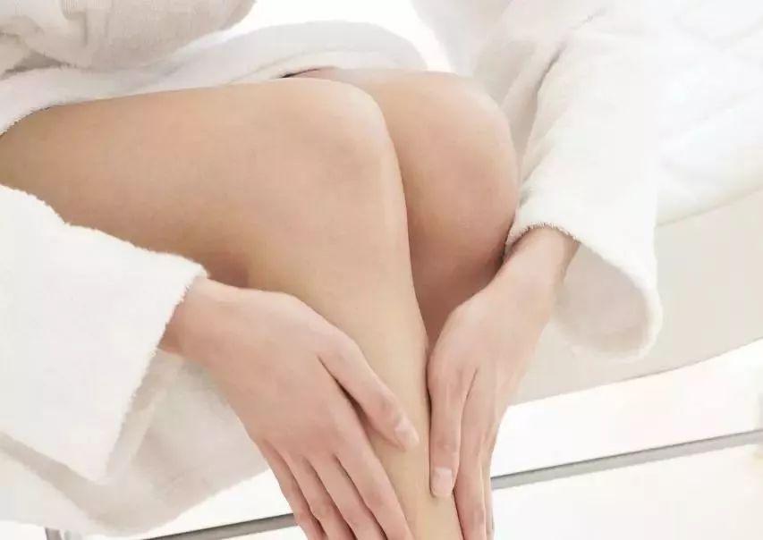 腿部艾灸位置图片
