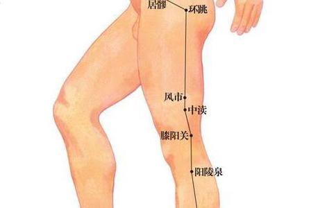 瘦腿的穴位揭秘,按摩穴位瘦腿瘦到尖叫!